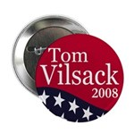 "Tom Vilsack 2008 2.25"" Button (100 pack)"
