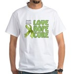 Tourette's Awareness White T-Shirt