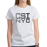 CSI NYC GREY Women's T-Shirt