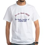Its Not About Race! T-Shirt