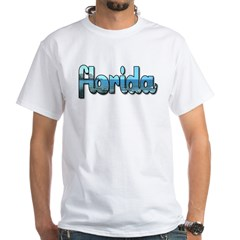 Florida White T-Shirt