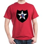 2nd Infantry Division Black T-Shirt