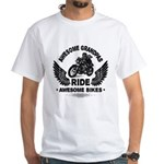 Rounded Square White T-Shirt