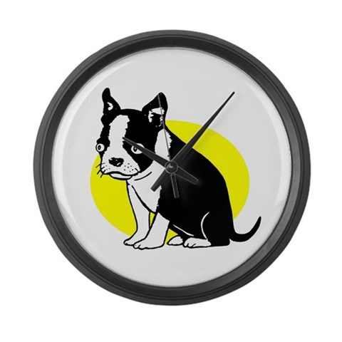Blinky  Internet Large Wall Clock by CafePress