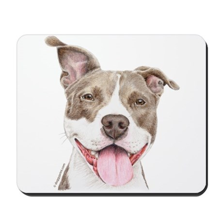 Pitbull terrier Mousepad