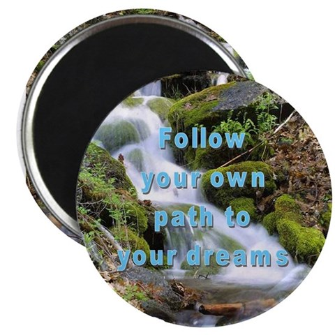 2.25quot; Magnet 10 pack - PATH TO YOUR DREAMS Cupsreviewcomplete 2.25 Magnet 10 pack by CafePress