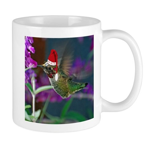 Ho Ho Ho Hummingbird  Nature Mug by CafePress