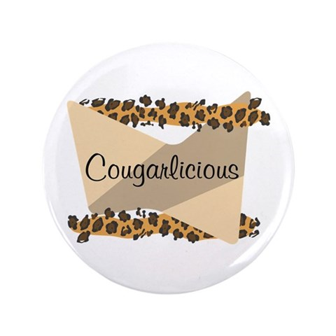 Cougarlicious  Funny 3.5 Button 100 pack by CafePress