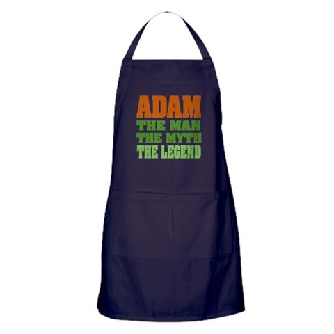 ADAM - The Legend  Funny Apron dark by CafePress