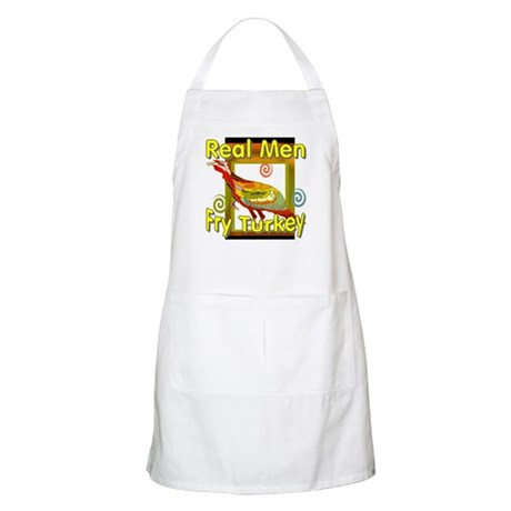 Real Men BBQ Apron