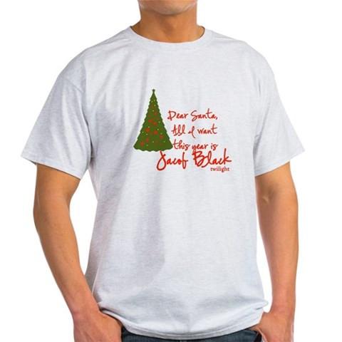 Jacob for Chrsitmas Twilight Light T-Shirt by CafePress