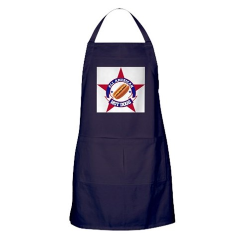 All American Dog  Health Apron dark by CafePress