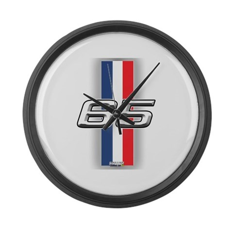 Cars 1965  Hobbies Large Wall Clock by CafePress
