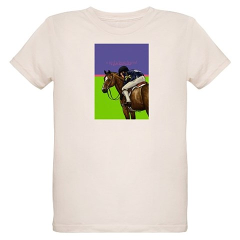 A girl's best friend  Horse Organic Kids T-Shirt by CafePress