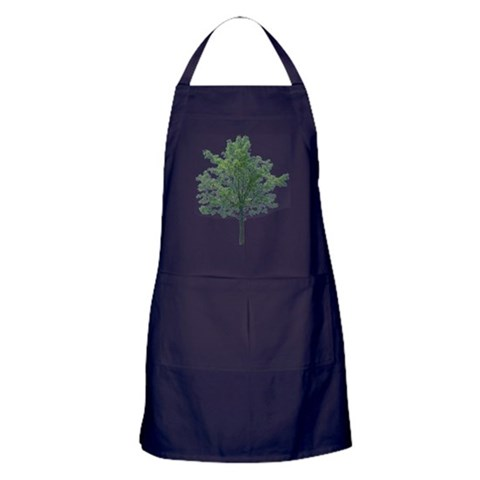 A Single Tree -  Peace Apron dark by CafePress