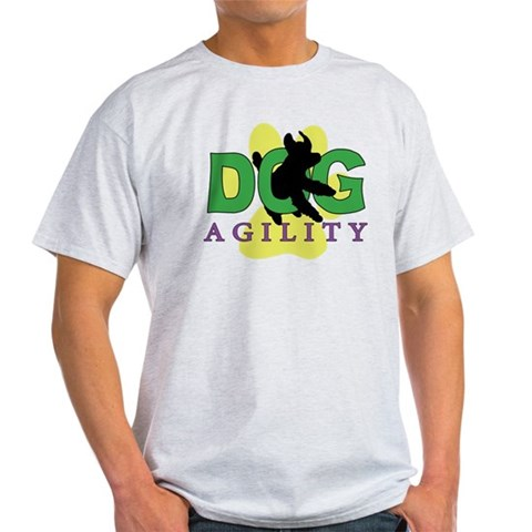 Dog Agility Pets Light T-Shirt by CafePress