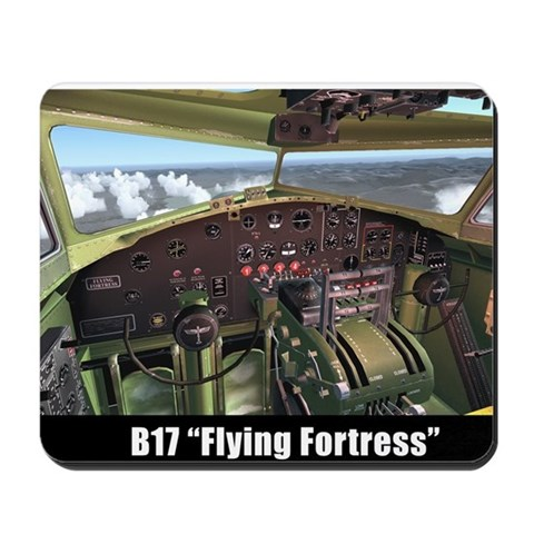 - B17 Flying Fortress B17 Mousepad by CafePress