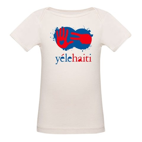 Yele Haiti  Cupsreviewcomplete Organic Baby T-Shirt by CafePress