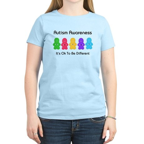 Autism Ok Difference Women's Light T-Shirt