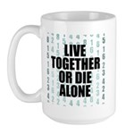 LOST Live Together Large Mug