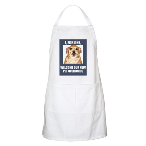 - Pet Overlords  Apron by CafePress