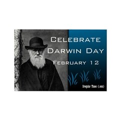 Darwin Day Magnet