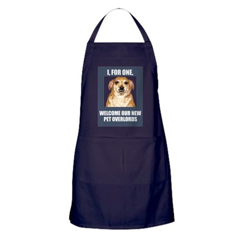 - Pet Overlords  Apron dark by CafePress