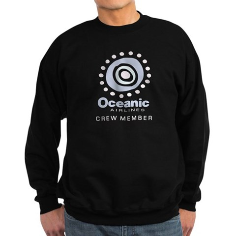 'Oceanic Airlines Crew'  Humor Sweatshirt dark by CafePress
