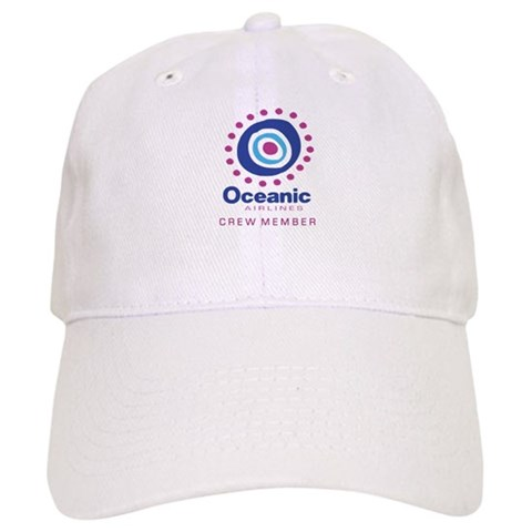 'Oceanic Airlines Crew'  Losttv Cap by CafePress