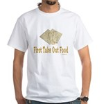 Take Out Food Passover White T-Shirt