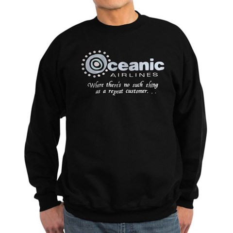 'Oceanic Airlines'  Funny Sweatshirt dark by CafePress