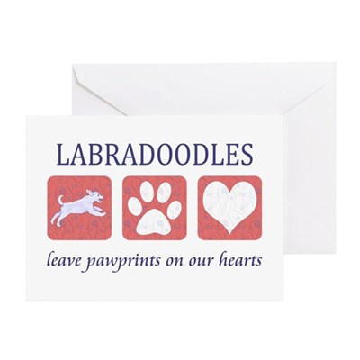 Labradoodle Lover Gifts Greeting Card