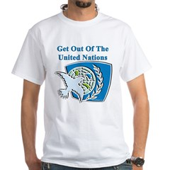 United Nations White T-Shirt