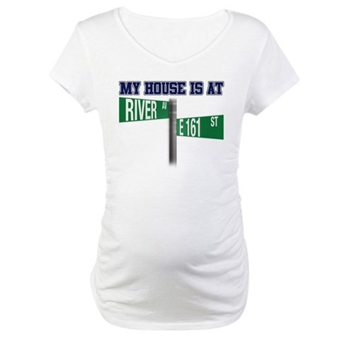 161st and River  Sports Maternity T-Shirt by CafePress