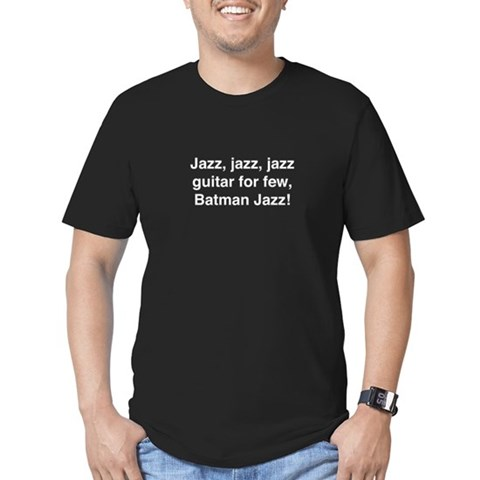- Jazz, jazz, jazz Humor Men's Fitted T-Shirt dark by CafePress