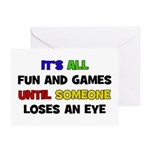Fun & Games - Eye Greeting Card