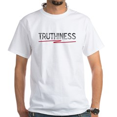 Truthiness - Word of the Year White T-Shirt