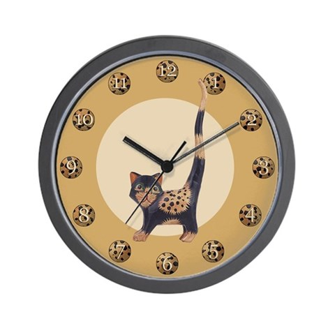 Cat Cats Wall Clock by CafePress