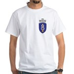 8TH INFANTRY DIVISION White T-Shirt