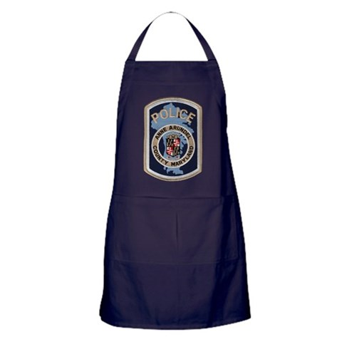 Anne Arundel County Police  Police Apron dark by CafePress