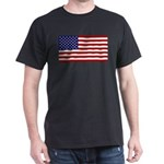 American Flag - Stars and Stripes - Old Gl T-Shirt