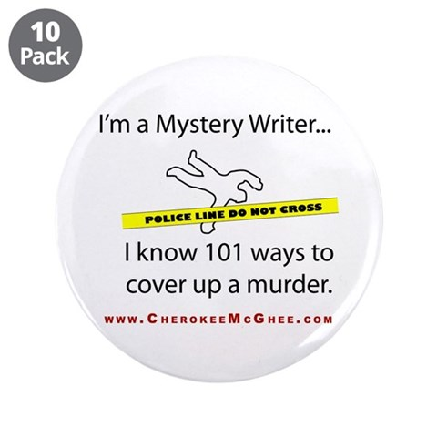3.5quot; Button 10 pack Writer 3.5 Button 10 pack by CafePress