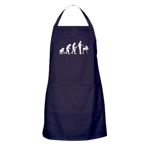 Barbeque  Funny Apron dark by CafePress