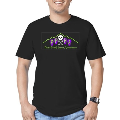 - Pikes Peak Hearse As Colorado Men's Fitted T-Shirt dark by CafePress
