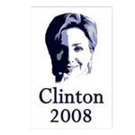 Portrait: Clinton 2008 Postcards (Package of 8)