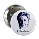 "Hillary Clinton Portrait 2.25"" Button (10 pack)"