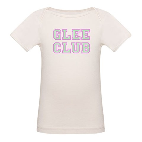 Glee Club Collegiate  Pop culture Organic Baby T-Shirt by CafePress