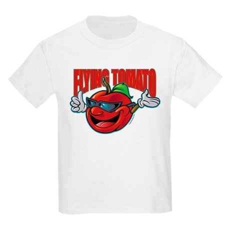 Flying Tomato! Kids Light T-Shirt