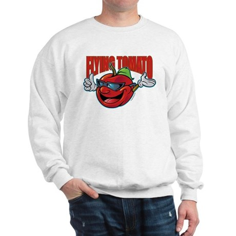 Flying Tomato! Sweatshirt
