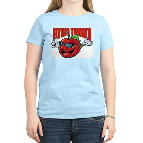 Flying Tomato! Women's Light T-Shirt